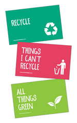 Frank - Recycle Bin 3 Sticker Set