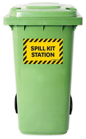Spill Kit - Yellow Hazard