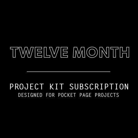 12 Mo. Project Kit Subscription