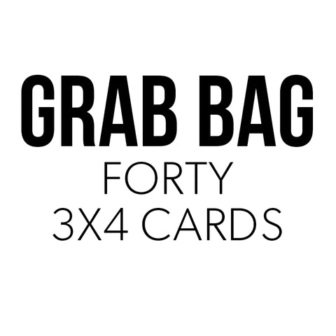 Grab Bag: 3x4 Cards