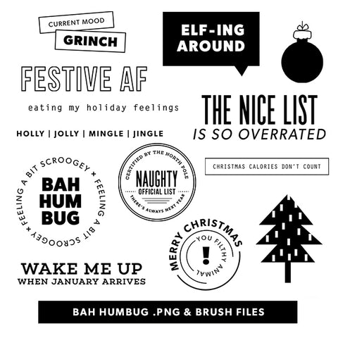 Holiday: Bah Humbug Digital Files
