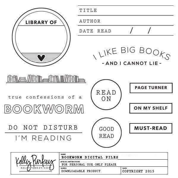 Bookworm Digital Files