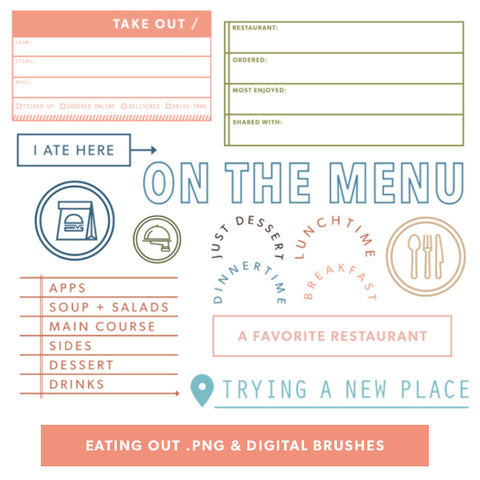 Eating Out Digital Files