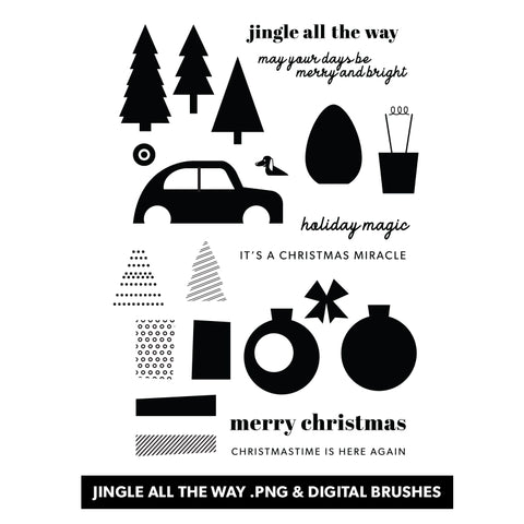 Holiday: Jingle All the Way Digital Files