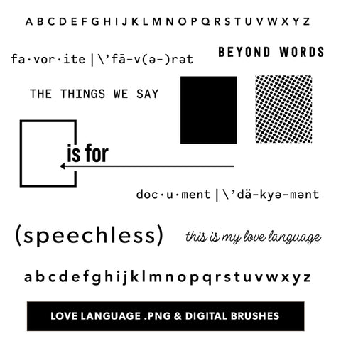 Love Language Digital Files