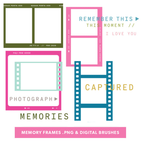 Memory Frames Digital Files