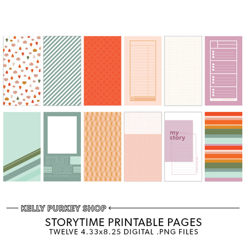 Storytime Printable Pages
