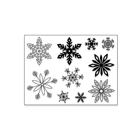 2019 TN Kit Stamp: Snowflakes