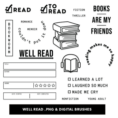 Well Read Digital Files