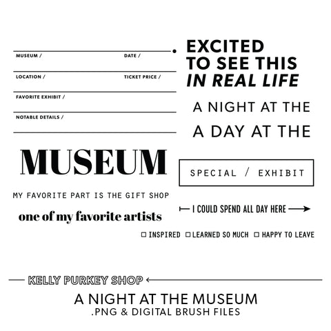 A Night at the Museum Digital Files
