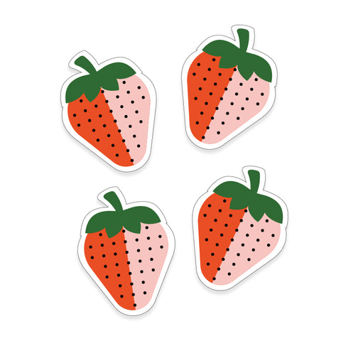 Strawberries Stickers