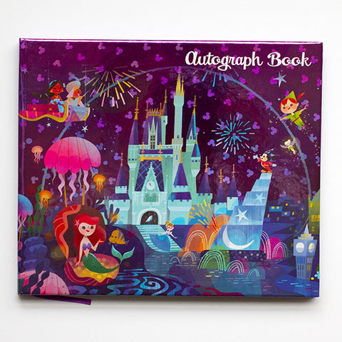 Holiday Pop-Up: Disney Autograph Book