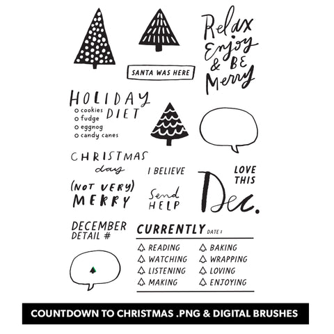 Holiday: LLP Countdown to Christmas Digital Files