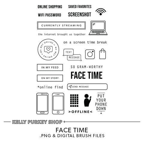 Face Time Digital Files