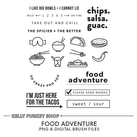 Food Adventure Digital Files