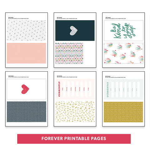 Forever Printable Pages