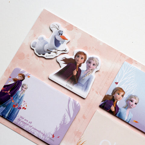 Holiday Pop-Up: Disney Frozen Lead with Courage Sticky Notes