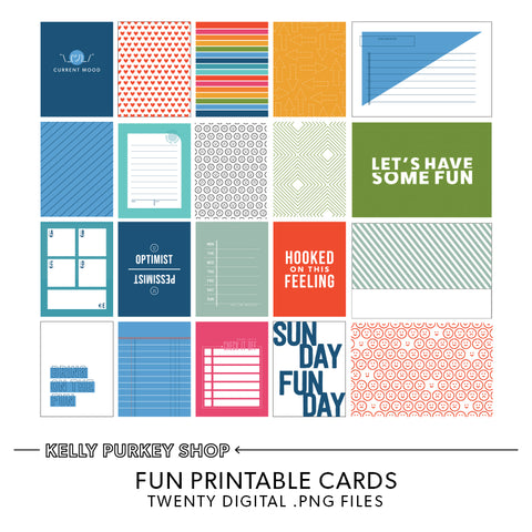 Fun Times Printable Cards