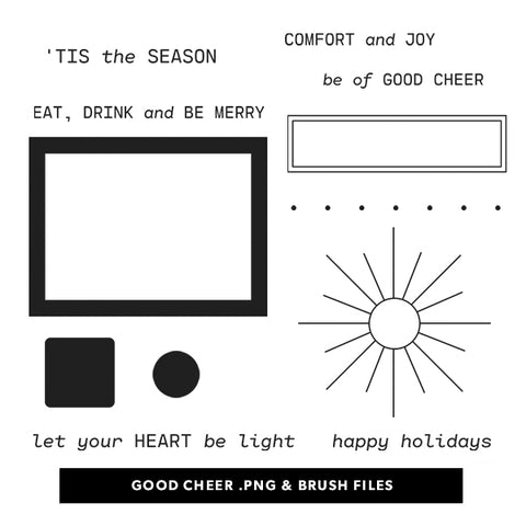 Holiday: Good Cheer Digital Files