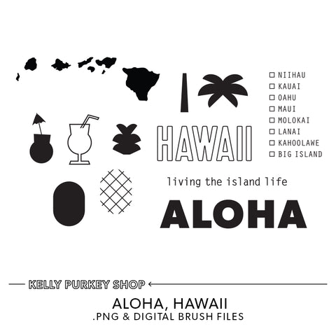 Aloha Hawaii Digital Files