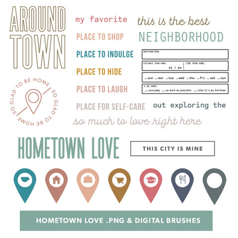 Hometown Love Digital Files