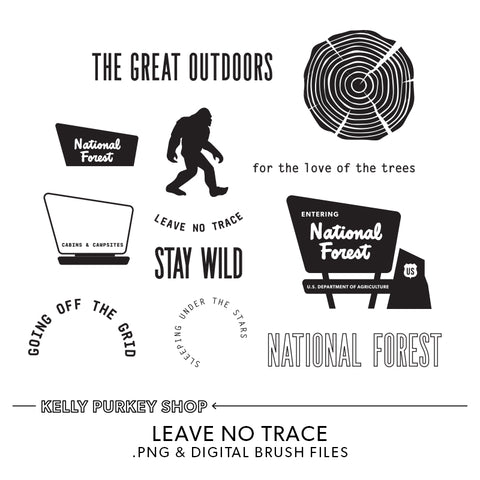 Leave No Trace Digital Files