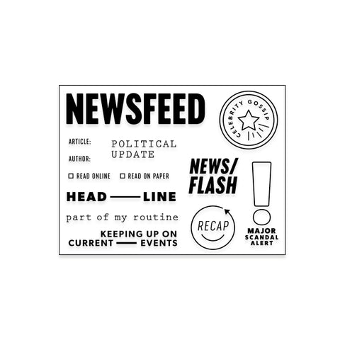 Newsfeed (coordinates w/Culture Collection)