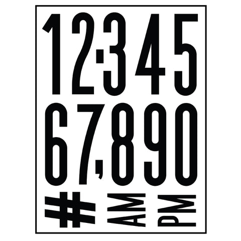 Highline Numbers