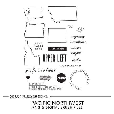 Pacific Northwest Digital Files