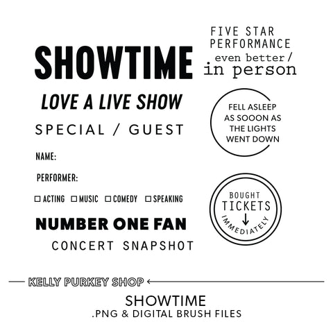 Showtime Digital Files
