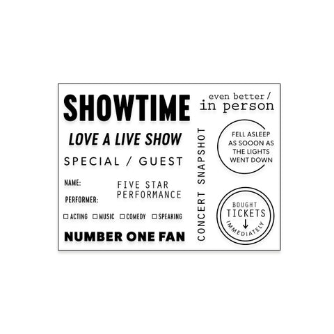 Showtime (coordinates w/Culture Collection)
