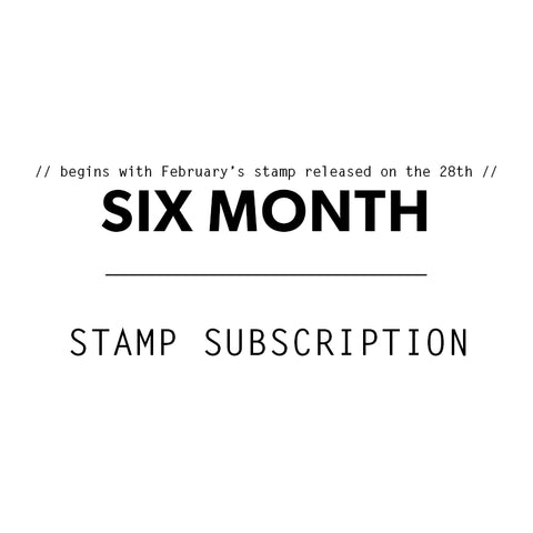 6 Mo. Stamp Subscription - TN Kit Subscriber
