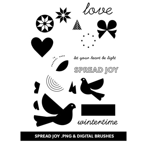 Holiday: Spread Joy Digital Files