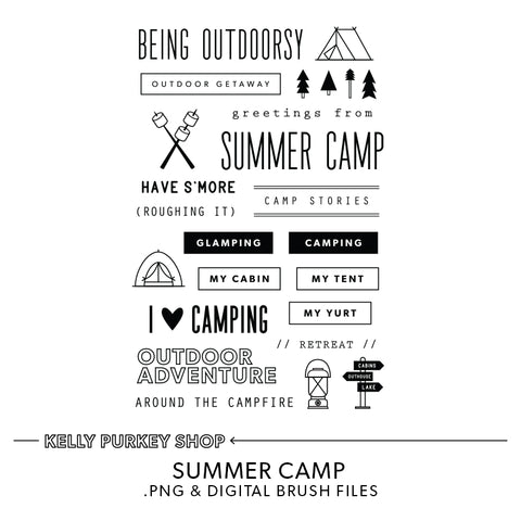 Summer Camp Digital Files