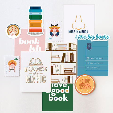 Swag Bag: Bookish (ships by 9/5)