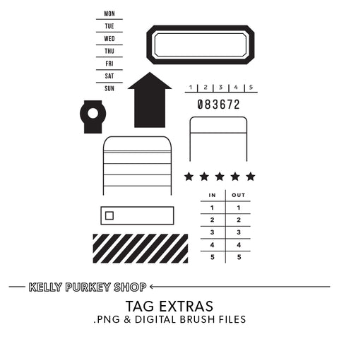 Tag Extras Digital Files