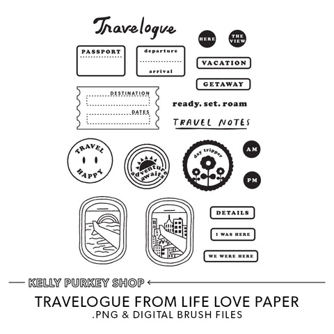 Travelogue Digital Files