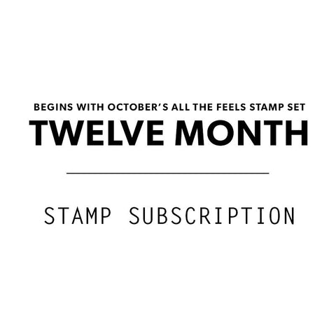 12 Mo. Stamp Subscription