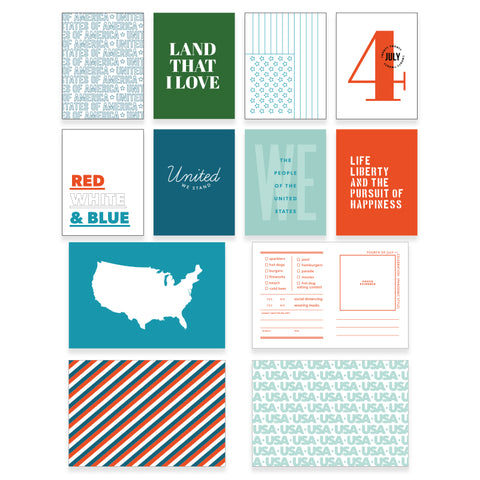 Red, White, and Blue Card Pack