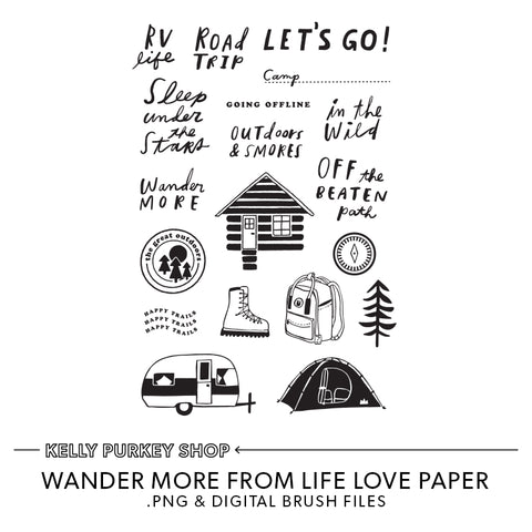 Wander More Digital Files