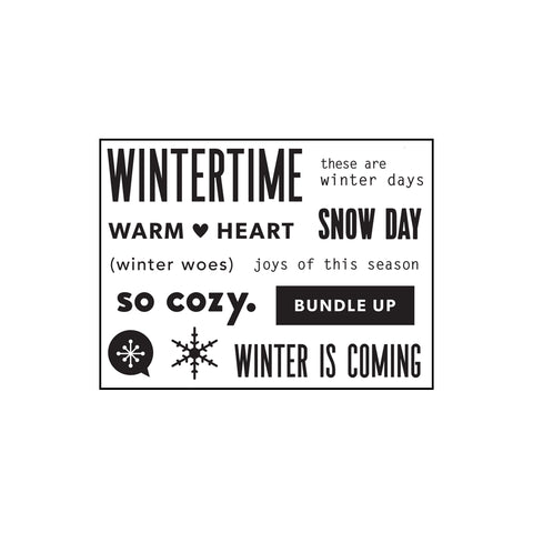 2018 TN Kit Stamp: Winter is Coming