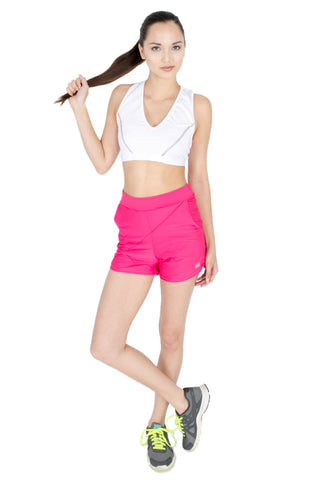 Geometrical Shorts in Pink