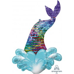 Mermaid sequin tail - supershape