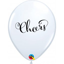 "11"" balloon - cheers"