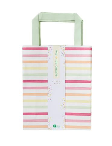 We heart ice cream striped party bags