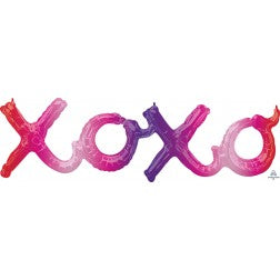 Air fill ombre xoxo banner