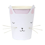 Cat with whiskers cups - Meri Meri