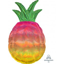 Holographic iridescent pineapple