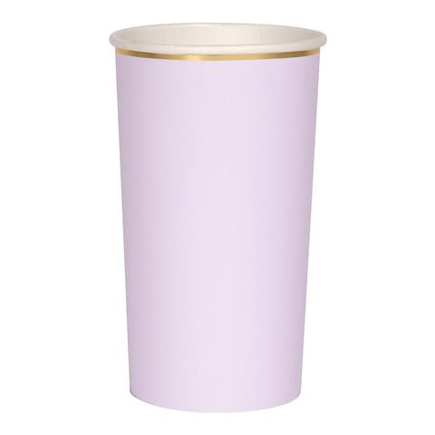 Lilac highball cups - Meri Meri