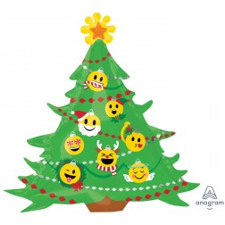 Emoji christmas tree